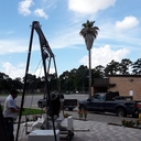 Installation of St. Augustine Statue photo album thumbnail 4
